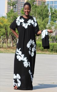 womens dresses black cotton soft textured comfortable dress with a big scarf Drop Shipping Good Quality