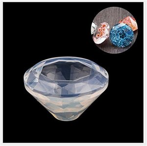 DIY Epoxy Resin Silicone Molds Synthetic Diamond Handmade Pendants Jewellery Mould Arts Crafts Moulds Easy Demoulding Hot Sale 5 5mx F2