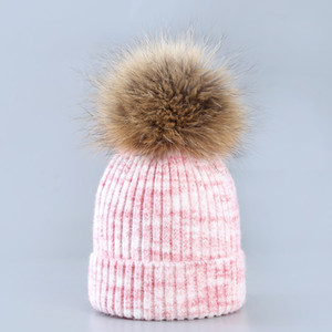 2017 Clamped wool cap Hats ladies wool hat parent-child ear protection warm hair knitting hat factory Price Xmas hat