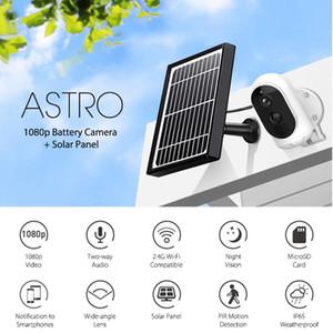 Astro Solar Wifi IP Kamera 1080 P HD IP65 Açık Su Geçirmez PIR Hareket Algılama IR Işık Ile Kablosuz Güvenlik Kamerası