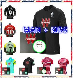 Мужчины + дети 2020 2021 Гранада футбольные трикотажные изделия 20 21 Гранада CF Дом домой Третья Soldado Herrera Antonio Puertas футбольные рубашки
