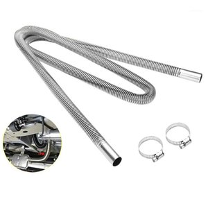 200cm Car Air Parking Heater Exhaust Pipe with 2 Clamps Fuel Tank Exhaust Pipe Hose Tube for crude oil-Heater1