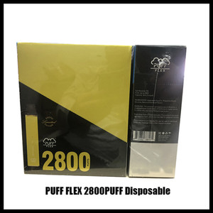 Puff Flex Bars 2800 Puffs Einweg-Pods-Gerät Vape-Kits 1500mAh-Batterie leer XS Flow XXL Plus-Bars