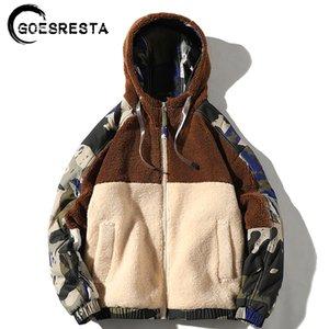 GOESRESTA Brand New Men's Jackets Streetwear Autumn And Winter Wild Warm Fashion Casual Ultralight Jacket Jacket Men 201120