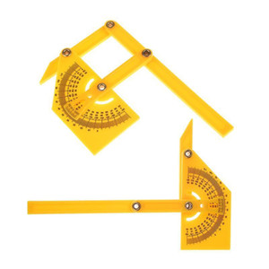 Multi-function Protractor Ruler Angle Finder Folding 180 Degree Angle Template Protractor Measuring