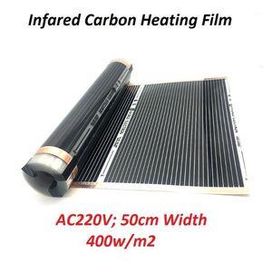 400w m2 Infrared Carbon Underfloor Heating Film AC220V Warm Floor Mat1