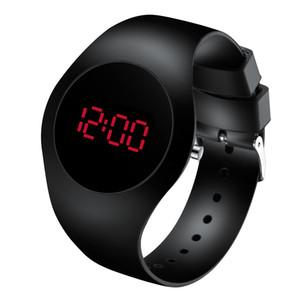 Fashion Men Watch Woman Digital relogio masculinoo Luminous Sensor LED Student watch waterproof Electronic Digital Watch 201130