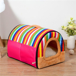 2020 Pet Bed Puppy Kennel Sofa Polar Fleece Material Bed Pet Mat Cat House Cat Sleeping products for dog