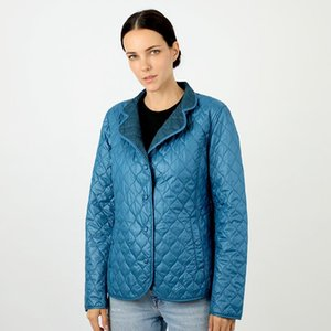 Short Spring Women's Jacket Parka Warm Quilted Coat Thin Cotton Lightweight Clothing Ladies North Brand Plus Size Face 18-13