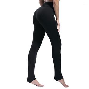 AALAMGEER Fashion Black Fitness Workout Leggings Women High Waist Elastic Female Gym Training Pencil Pants Causal Sport Trousers1
