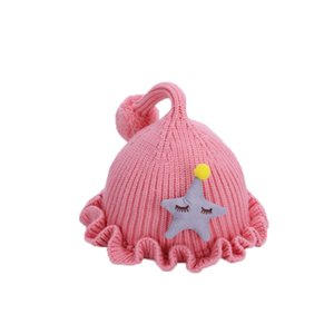 2020 autumn and winter children's hat warm solid color baby earmuffs cap boys and girls cute baby Korean wool tide