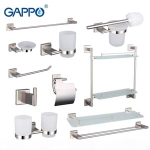 vente en gros accessoires de salle de serviettes Bar Dresser Porte papier Clip Porte brosse à dents Serviette de bain arrière Anneau porte-serviettes de bain Ensembles G17T11