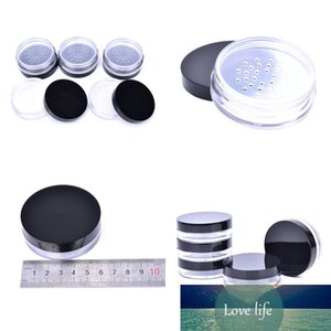 10ml Empty Cosmetic Container Travel Empty Refillable Cosmetic Jar Pot Loose Face Powder Sifter Case Powder Box Wholesale