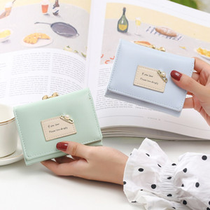 Mini Designers Bags Wallets Backpack Kids Women Women's 2020 Coin Purse Small Luxurys Wallet Three Folding Fashion Purse Hot Purse Sold Ailr