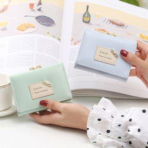 Small Designers 2021 Wallets Backpac Luxurys Kids Solds Wallet Folding Women Purse Mini Bags Hot Fashion Coin Three Nnrou Women's Xlhag