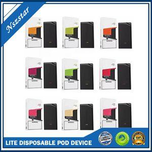 Lite Einweg-Pod Gerät 3 ml E Cig Vape Systems-Dampf-Pen 900 Puffs Prefilled P Lite Vaporizer für MIO LOY XL