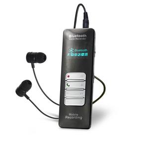 Freeshipping Bluetooth Voice Recorder Teléfono Móvil Grabación Call Sound Activation VOX VOS Protección de contraseña MP3 Play