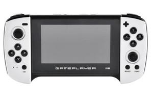 Детская консоль 4.3-дюймовый PSP Обновленные портативные игровые игроки с 8 ГБ ОЗУ Большой экран для двух против портативных аркадных игр Детский подарок X18S 5 шт.