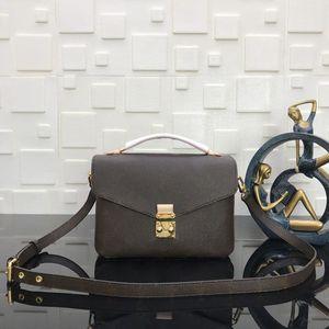2021 Сумки сумки сумки Pochette Metis Bobby Designer Crossbody Женская кожаная кожаная тиснение качества на плечевой сумочкой подлинной High Messenger BLA AJTP
