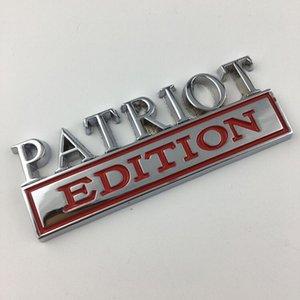 Mobil 3D Logam Stiker Untuk Jeep Patriot Edisi Mobil Tubuh Batang Sisi Fender Janela Emblema Lencana Stiker Auto Aksesoris