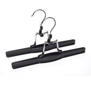 PVC Metal Skirt Hangers Pants Clamp Hair Extension Hanger SN2084