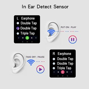 I9999 PLUS PLUS TWS Wireless Earbuds Air2 Super Bass Earhone Control Control Control Control Bluetooth Наушники