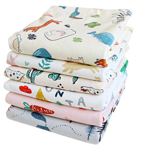 Baby Diaper Changing Pads Large Products Waterproof Washable Breathable Cotton For Newborn Reusable Aunt Menstrual Pad Soft Q1117