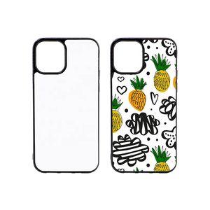 60 teile / los 2D Sublimation Silicon Phone Case für iPhone XS Gummi Wärmeübertragung für iPhone XR xs max mit Aluminiumplatte
