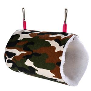 Небольшой животное хомяканье уннет леопардовый печать камуфляж сова сердце круглый печать холст ежик гамак комфорт домашних животных игрушки S L 9 9WC E19