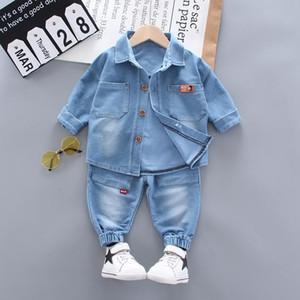 Toddler Boys Clothing Sets Spring Autumn Kids Denim top + jeans 2pcs Children Sport Suit Baby Boys Clothes Set Infant Tracksuits