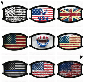 Designer Mask Anti Dust Black Lives Matter I can't Breath for Cycling Cartoon Cotton Flag Trump Washable Cloth Mask FWE3188