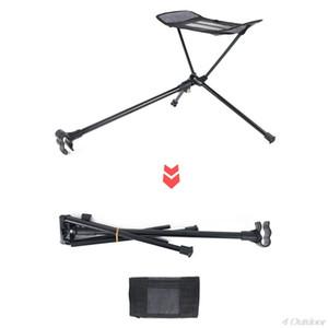Chaise pliante en plein air repose-pieds tireil portable inclinable rétractable tabouret de jambe de lune Foote-pied N23 20 Dropshipping Z1130