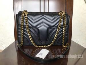 Top Qualität 5 Farber Berühmte Marke Frauen Designer Umhängetasche Leder Kette Tasche Kreuzkörper Reine Farbe Womens Handtasche Crossbody Tasche Geldbörse