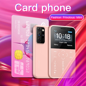 Original New SOYES S10P Mini Card Phone 2G GSM 400mAh 1.54'' MTK6261M Cellphone Ultra-Thin Fashion Children Small Size Phones