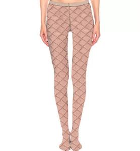 Мода письмо напечатанные женские чулки зима нога теплые женские колготки чулок дамы ночной клуб вечеринки сексуальные колготки