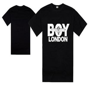 Boy Londres T-shirts 2018 Street Fashion manches courtes Eagle motif d'impression T-shirt T-shirt Chemise pour hommes de coton Livraison gratuite