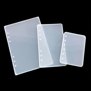1Pc A5 A6 A7 Notebook Cover Silicone Mold Resin Silicone Mold Handmade DIY Jewelry Making Epoxy Resin Molds