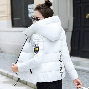 2020 New Winter Parkas Women Jacket Hooded Thick Warm Short Jacket Cotton Padded Parka Basic Coat Female Outerwear Plus Size 5XL F1203