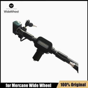 Mercrane Wide Wheel 전기 스쿠터 부품에 대한 원래 줄기 어셈블리 윈드 휠 킥스켓 스케이트 보드 호버 보드 핸들 액세서리