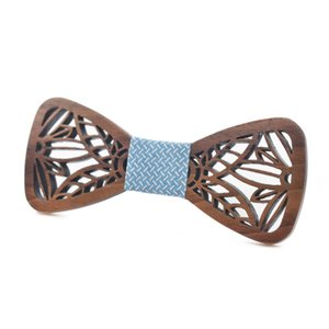 Sitonjwly Fashion Bow Tie Wooden Tie for Mens Shirt Wood Bowtie Cravate Homme Corbatas Hombre Pajarita Wedding Wooden Bow