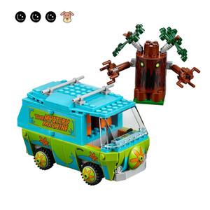 Fit Scooby Doo 75902 фильмы Mystery Machine Mini цифры Бела 10430 Образовательные игрушки Строительные блоки Игрушки для детей подарок LJ200928