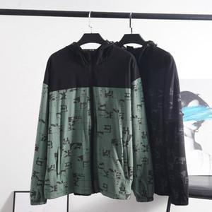 NOUVEAU HOMMES JACKET FEMMES GIRL GIRL GOOD PRODUCTION SOFT PRODUCTION Capuche à capuche avec lettres Sweats à capuche à glissière pour hommes Sportwear Tops Vêtements