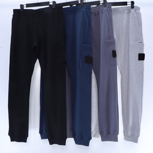 20fw Badge Patched Hommes Pantalons Classic Track Pantalon pour Femmes Hommes Jogger Pantalon Pantalon Pantalon long Homme Vêtements