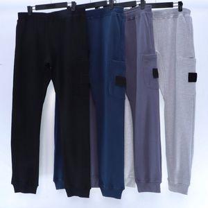 20FW Badge Patching Men Pants Classic Track Pant per le donne Mens Jogger Sweatpants Pantaloni lunghi Pantaloni da pantaloni Homme Abbigliamento