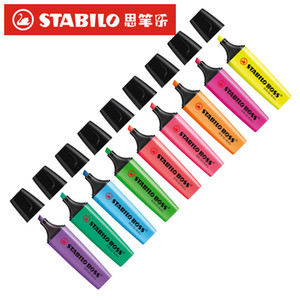 Germany Stabilo 70 Boss Highlighter Candy Color Hand Account Waterborne BOSS Student Mark Key Marker 9 Color Optional 201125