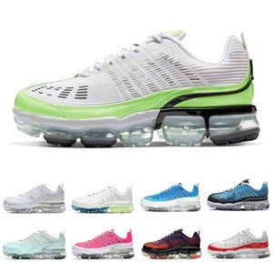 Ghost Green Metallic Silver Laser Blue Light Aqua Knit 360 Top Cheap sports shoes University Red 360s Tops trainers sports sneakers