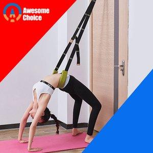 Flexibility Stretching Leg Stretcher Strap for Ballet Cheer Dance Gymnastics Trainer Comfort Design Yoga Stretch Belt Yoga Z1125