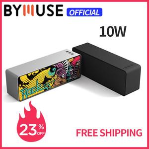 """BYMUSE F2 """"10W"""" Portable Bluetooth haut-parleur Subwoofer sans fil STEREO Haut-parleur Haut-parleur HIFISUPORT AUX / TF / USB POUR PCPHONE"""