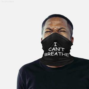 Riutilizzabile I Face non può respirare la lavabile USA Designer Sciarpa Protettivo Tessuto Protettivo Traspirante Cycling Black Mask Dropshipping C0201