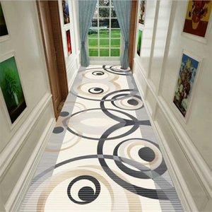 Nordic Style Parlor Corridor Carpet Mat Bedside Area Rug Kitchen Bathroom Rug Doorway Doormat Geometric Living Room Carpets